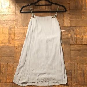 UO baby blue mini dress